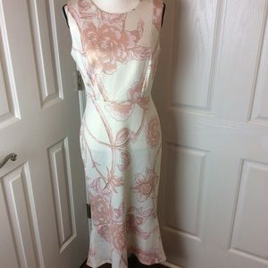 Enfocus flowered maxi dress